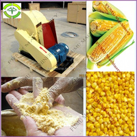 industrial corn maize mill machine for chicken feed