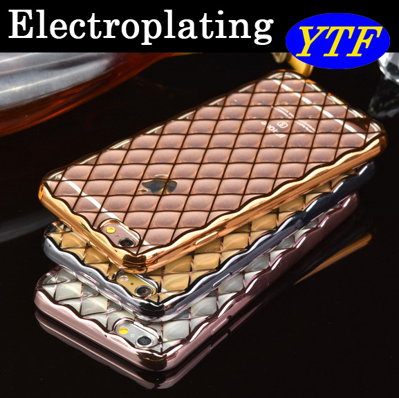 Hot selling Luxury Fashion Electroplating TPU case for Samsung A7 2017 A720