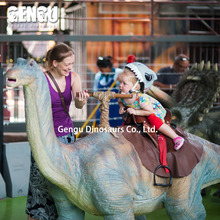 Coin operated dino ride for kids