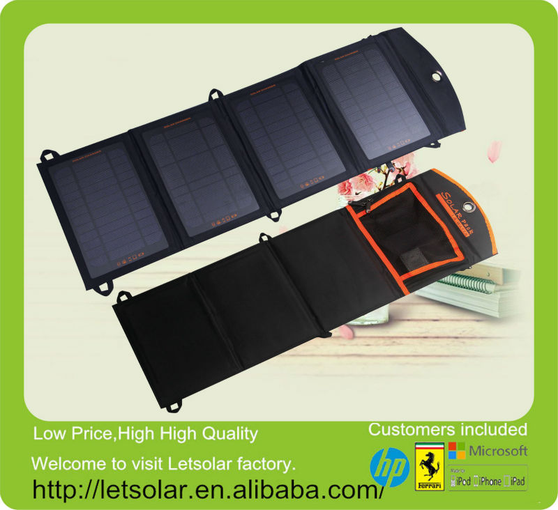 New china factory roof hook of solar panel for iPhone and iPad directly under the sunshine