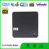 Hot selling M9 android 4.4 android tv box 2GB RAM 8GB ROM support 4K