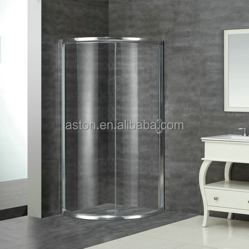 Corner sliding cUPC CE certificate shower enclosure