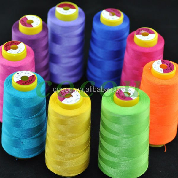 core spun polyester sewing thread used industrial sewing machines sale