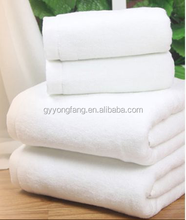disposable towel, white logo hotel towel, 100 cotton white towels 10x10