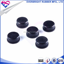 Customized molded rubber stool feet