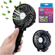 Mini USB Rechargeable Battery Operated Electric Hand Fan with CE FCC Certification