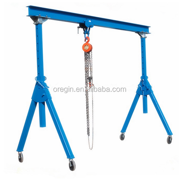 Free Direction Wheel Lifting Materials Portable Aluminum mini crane