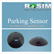 Advanced Wireless Magnetic Optical Parking Space Indicator for outside parking