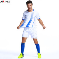 New Model Sublimation Printing Soccer Uniform Set Football Jersey