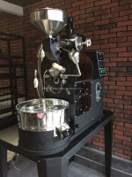 newest stainless steel industrial coffee roaster with data logger/coffee roasting machine/mini coffee bean roaster