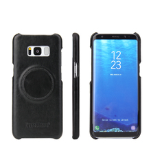 backcover style phone cell for samsung galaxy s8 leather phone case