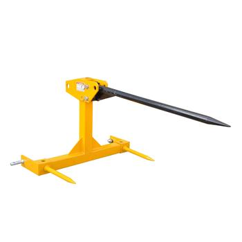 3-Point bale spear spike , farm hay tools hay spear loader