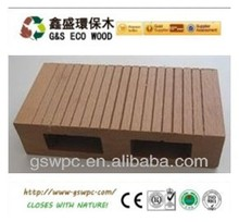 Eco-Friendly WPC hollow deck Flooring board with experienced