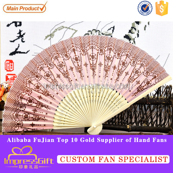 Diy paper hand fan with your company logo