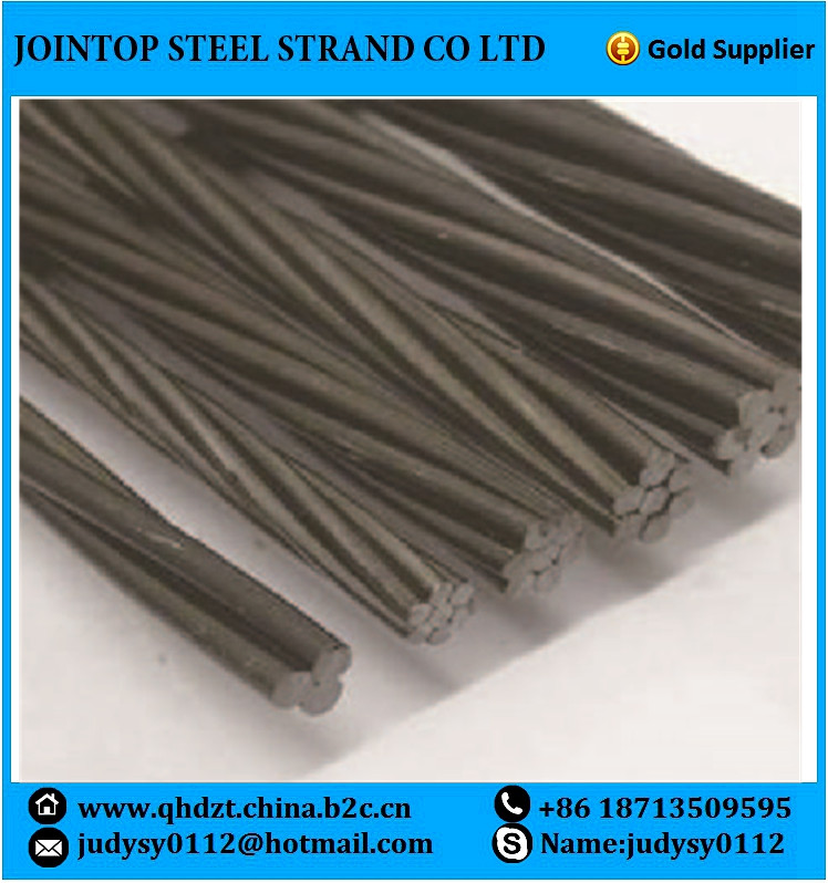 Prestressed Steel Wire Strand for Concrete of ASTM, GB, JIN Standard