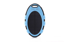 Solar Power Bank Rohs Solar Cell Phone Charger 4000mah Portable Solar Power Bank for Mobile Phones Solar Charger