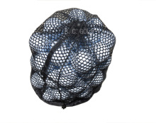 B001 Simple Portable Nylon Mesh Net Bag for Golf Ball Golf Tennis 12 Balls Holder Pouch