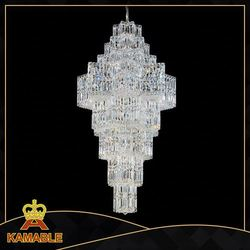 hotel project crystal chandelier light family