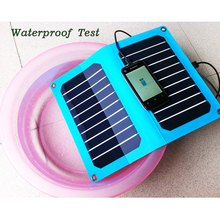 Portable A grade high efficiency polycrystalline silicon 5v 500ma mini solar panel