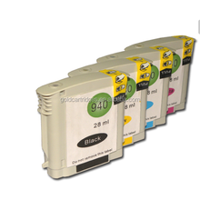 Ink Cartridge For HP 940 XL C4906AN C4907AN C4908AN C4909AN