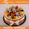 High quality hot sale cheap bakery window display beautiful fruit birthday cake model fake cake