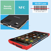 industrial tablet pc barcode scanner with 1D/2D barcode reader (7'' tablet )