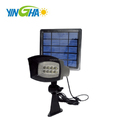 Low Voltage 3000 mAh Battery Performance Outdoor Solar Detachable Spotlight