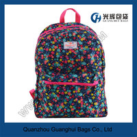 Floral Pattern backpack for girls