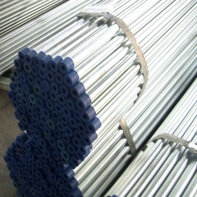 China supplier BS3601 hot deeped galvanized steel pipe for fire protection system DN150 screw joint steel pipe