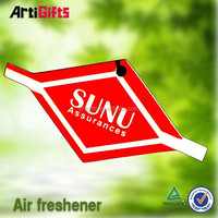Customized design football club paper air freshener