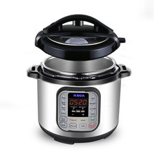 5 Qt 1000W 7-in-1 Multifunctional Programmable Pressure Cooker, <strong>Rice</strong>,Slow , Food Steamer, Yogurt Maker