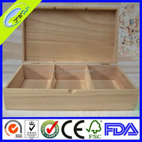 wood condiment box with inner tray