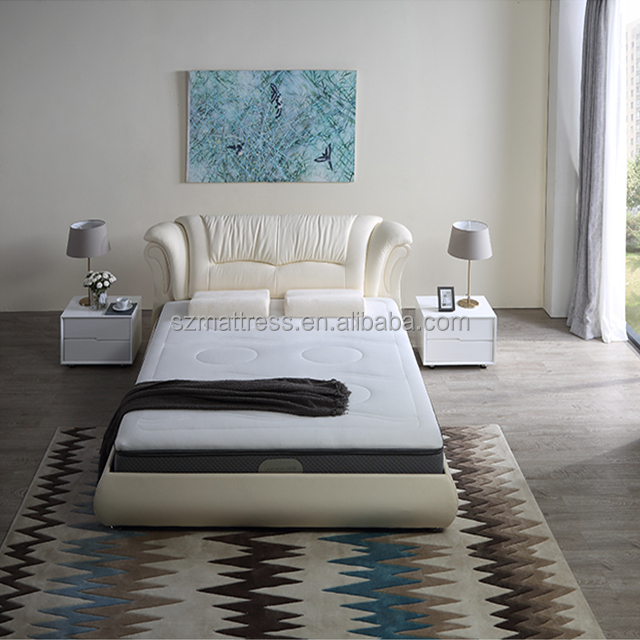 plush hybrid mattress with removable topper pad easy to keep clean king - Jozy Mattress | Jozy.net