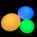 Remote Control rechargeable Battery Oval Plastic LED Fat Illuminated Light Up Ball
