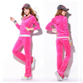 Cotton/polyester jogging suit, sports wears for women