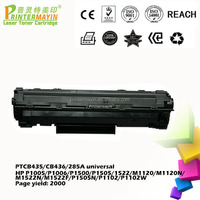 Office Supplies Toner Cartridge for HP1102 Printer (PTCB435/CB436/285A universal)