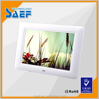 8 inch lcd tv advertising display digital photo frame play video and picture