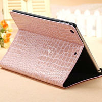 Multi-function crazy horse leather case for ipad air