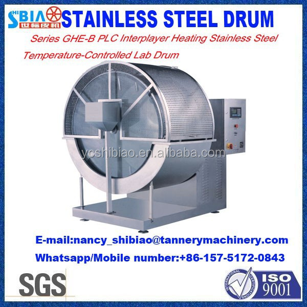 wet blue hides machine Labortary drum D1400 by 500 Inox Experiment tanning drum/processing drum/leather machine made in China