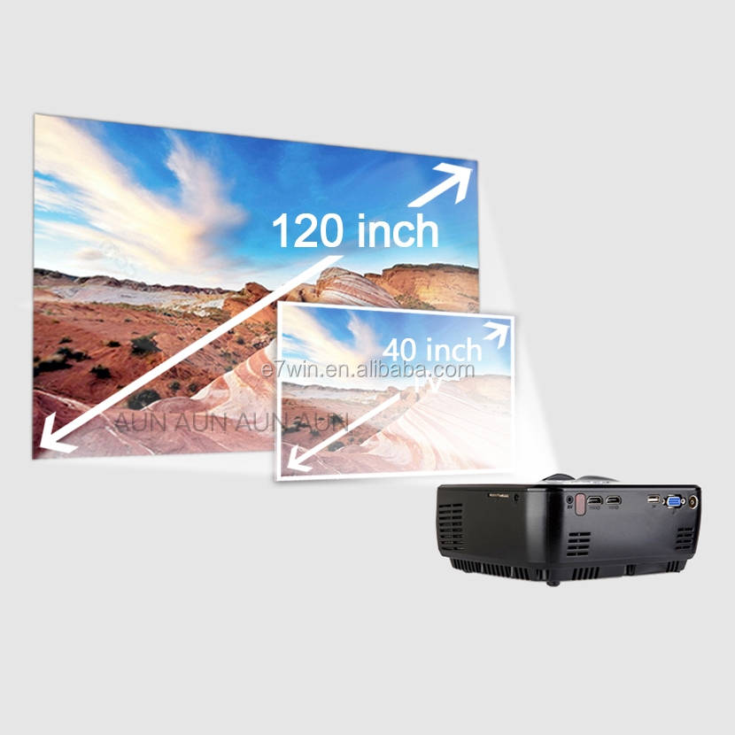 AUN AM01s LED Projector 1080P Android Mini Video Projetor Full HD HDTV Beamer Wifi Home 1400Lumens Game Business
