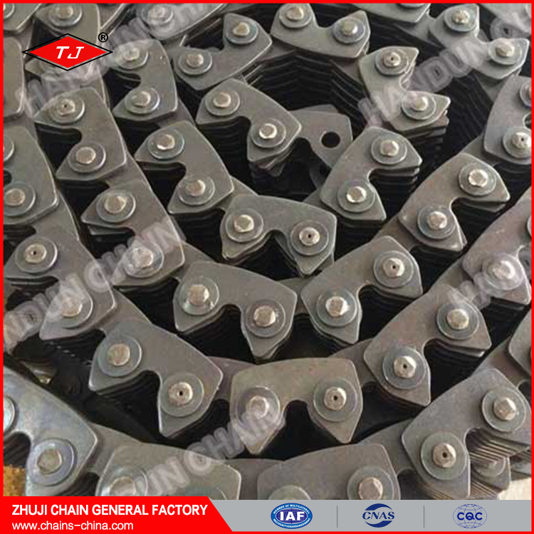 steel rubber conveyor chain for sale industrial machine chain