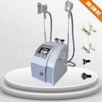 CE / ISO Cryolipolysis cavitation and rf vacuum weight loss and skin tighten machine CM 02