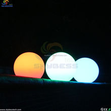 Fashion design color changing waterproof floating led light ball/led magic ball for bar/cafe/garden/pool/home decoration