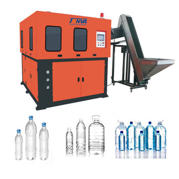 2L 4cavities PET water bottle stretch blow molding machine