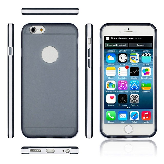 For iPhone 6 Cell Phone New Case,Soft TPU Plastic Bumper for iPhone 6 4.7inch Hybrid Shockrproof Back Cover Cases