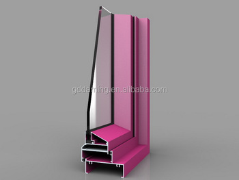 Aluminum extrusion casement window K70C series