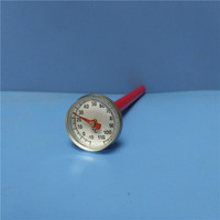 Dial Pocket Food Thermometer with Magnifying Lens