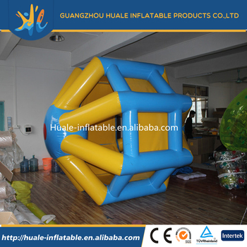 Funny water game, Inflatable water runner, inflatable water roller
