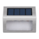 Stainless steel outdoor solar led step lights waterproof for steps paths patio stair
