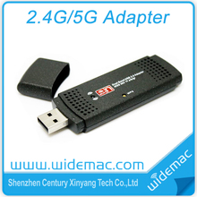 300Mbps dual band 2.4ghz / 5ghz usb wifi adapter /WiFi usb dongle (SL-D003)